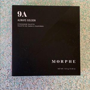 5/$25 Morphe 9A Always Golden Eyeshadow Palette